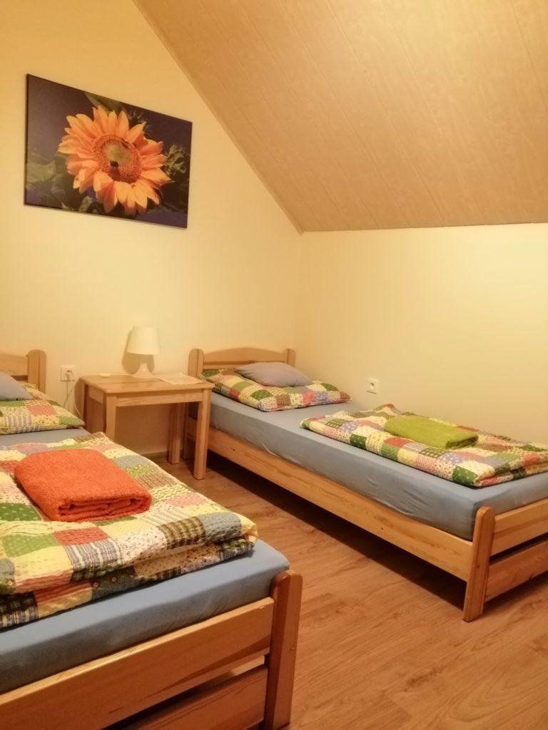 pokój słonecznikowy